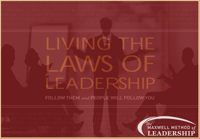 Maxwell Method of Leadership - Workshop